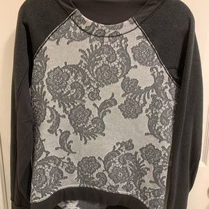 Lululemon Fleet Street Floral Pullover Sweatshirt